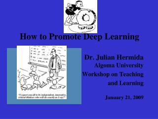 How to Promote Deep Learning