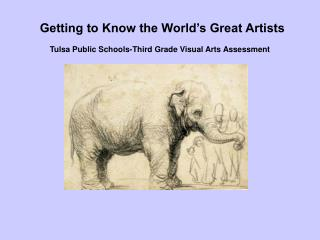 Art Assessment: Pre-Lesson PowerPoint