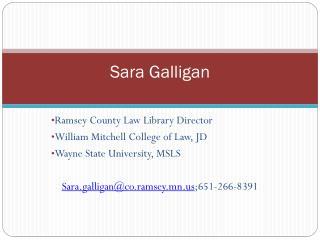Sara Galligan