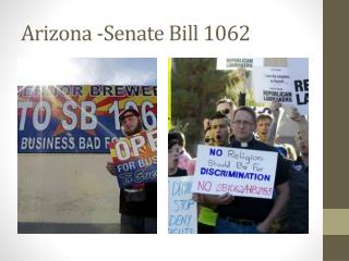 Arizona -Senate Bill 1062
