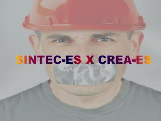 SINTEC-ES  X  CREA-ES