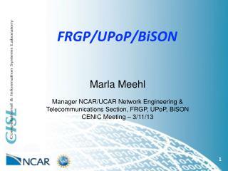 FRGP/UPoP/BiSON