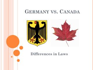 Germany vs. Canada