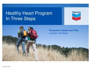Healthy Heart Program In Three Steps