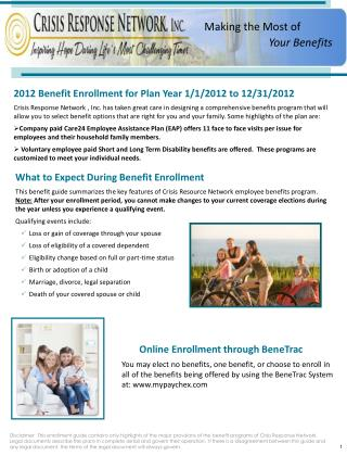 What to Expect During Benefit Enrollment