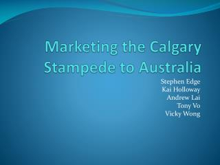 Ppt calgary stampede powerpoint presentation id 7366670 for Accentric salon calgary