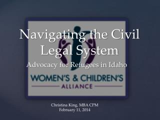 Navigating the Civil Legal System
