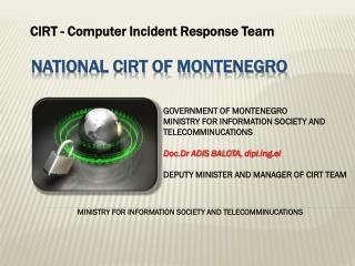 National CIRT of Montenegro