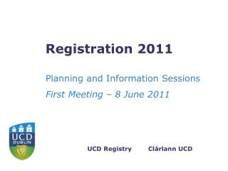 Registration 2011
