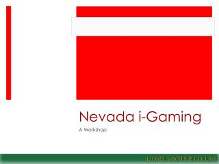 Nevada  i -Gaming