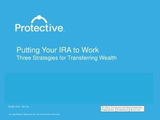 Putting Your IRA to Work Three Strategies for Transferring Wealth