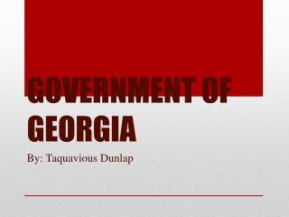 GOVERNMENT OF GEORGIA