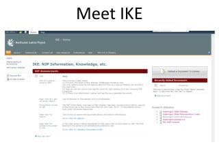 Meet IKE