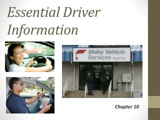 Essential Driver Information