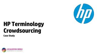 HP Terminology Crowdsourcing