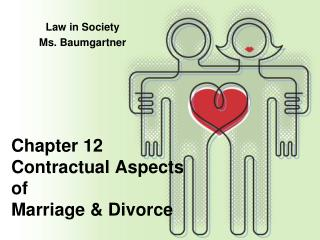 Chapter 12 Contractual Aspects  of  Marriage & Divorce
