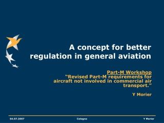 general conformity regulation