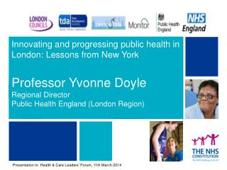 An international perspective on city comparisons Immediate lessons from a visit to the New York Commissioner for Health