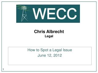 Chris Albrecht Legal