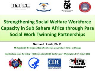 Strengthening Social Welfare Workforce Capacity in Sub Sahara Africa through Para Social Work Twinning Partnerships