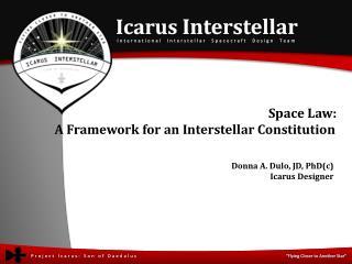Icarus  Interstellar