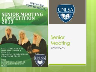 Senior Mooting