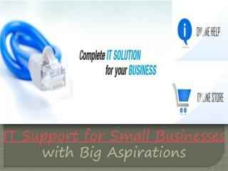 it support for small businesses with big aspirations