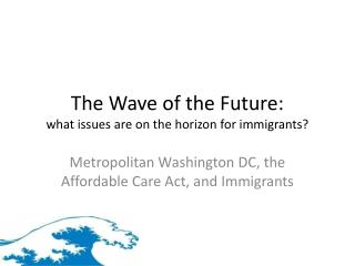 The Wave of the Future: what issues are on the horizon for immigrants?
