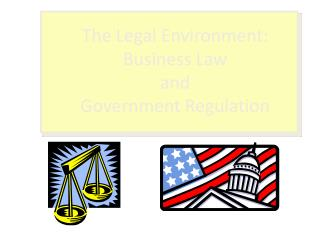 The Legal Environment: Business Law and Government Regulation