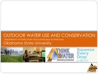 OUTDOOR WATER USE AND CONSERVATION