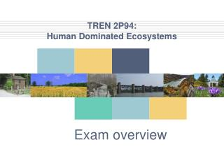 TREN  2P94:  Human Dominated Ecosystems