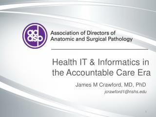 Health IT & Informatics in the Accountable Care Era
