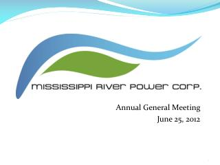 Annual General Meeting June 25, 2012