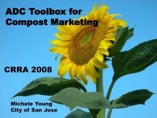 ADC Toolbox for Compost Marketing
