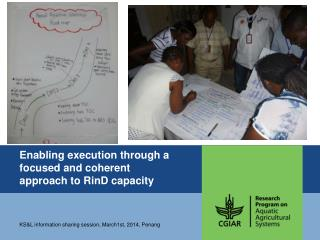 Enabling execution through a focused and coherent approach to  RinD  capacity
