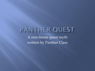 Panther Quest
