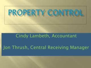 Property Control