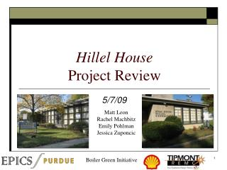Hillel House Project Review