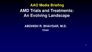 AAO Media Briefing