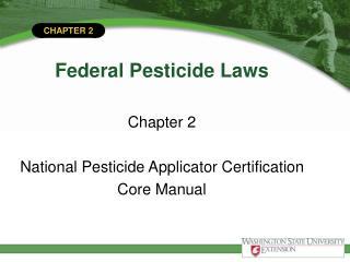 federal pesticide laws