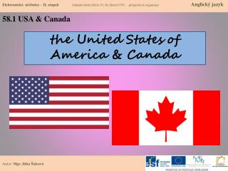 t he  United States of America & Canada