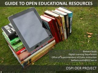 GUIDE TO OPEN EDUCATIONAL RESOURCES