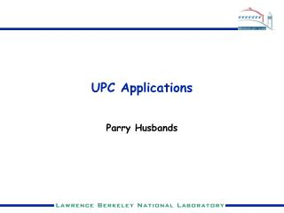 upc applications