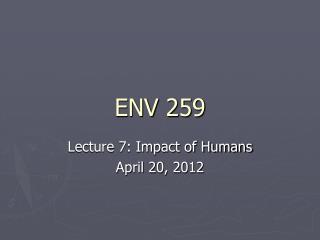 ENV 259