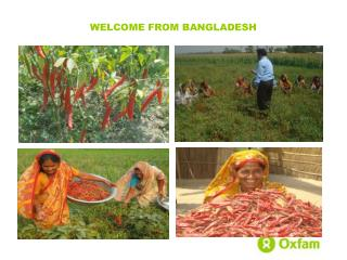 WELCOME FROM BANGLADESH