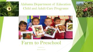 Alabama Department of Education Child and Adult Care Programs
