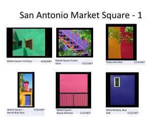 San Antonio Market Square - 1