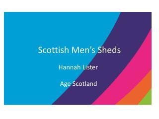 Scottish Men's Sheds