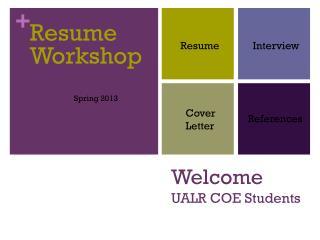 Welcome  UALR COE Students