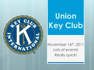 Union Key Club